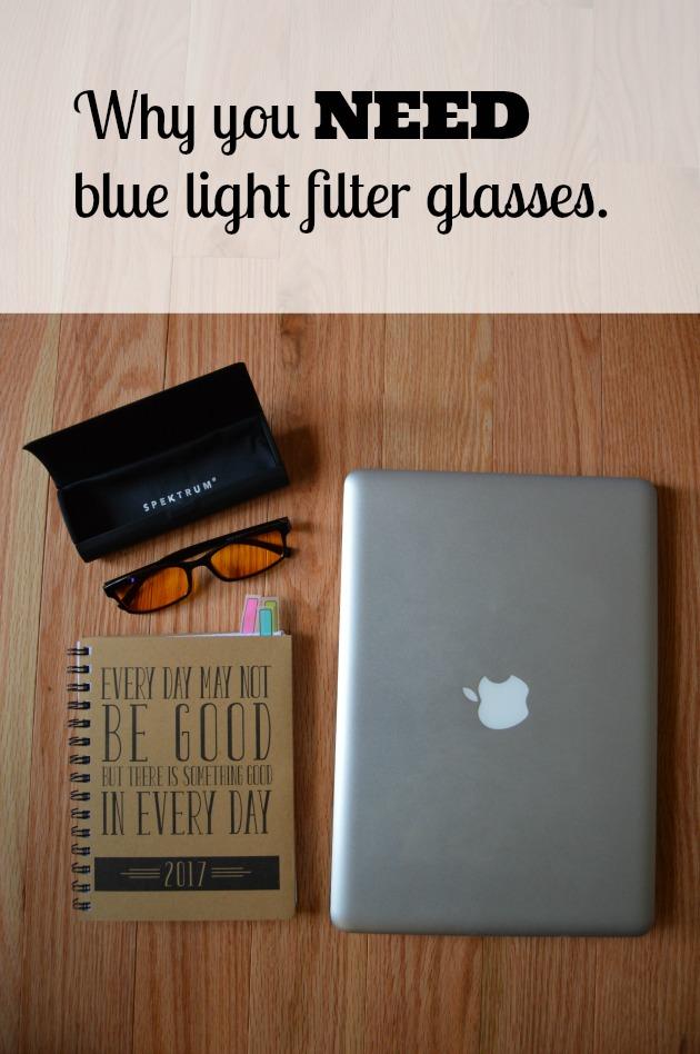 Spektrum Blue Light Filter Glasses Review - Family Focus Blog