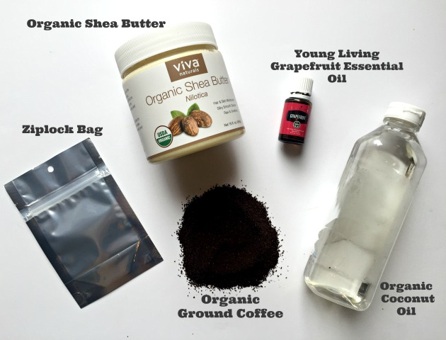 homemade body scrub recipe