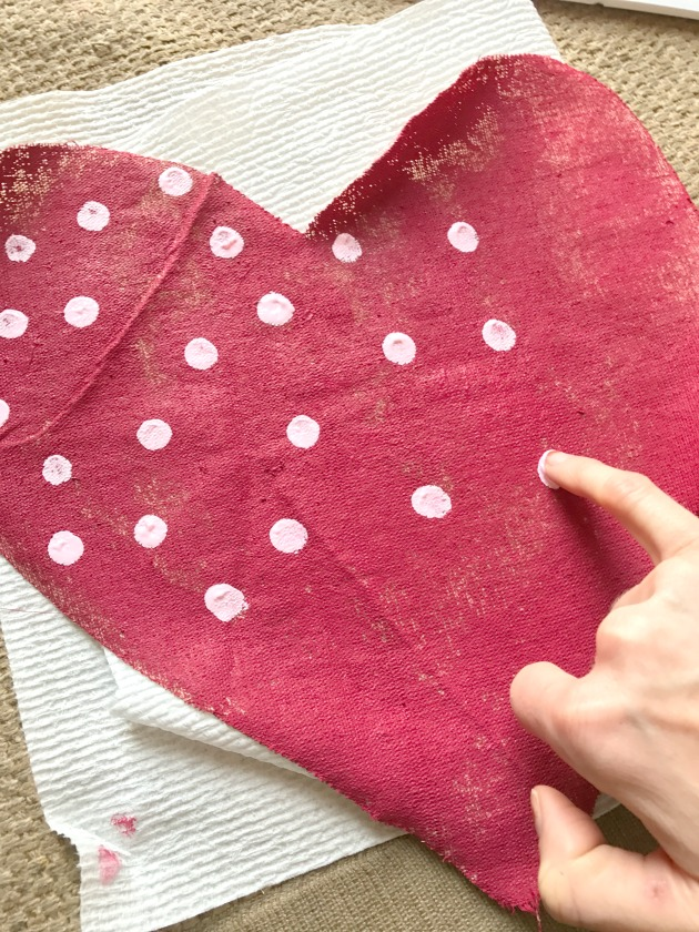 make hanging hearts