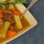 Pressure Cooker Beef Stew In A Jiffy