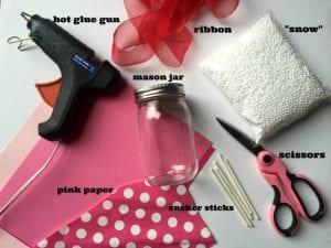 How To Make Valentine Snow Globes