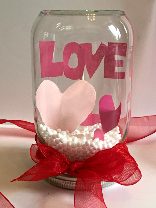 Valentine's Day Snow Globe