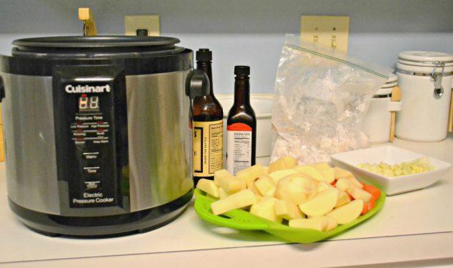 make pressure cooker beef stew