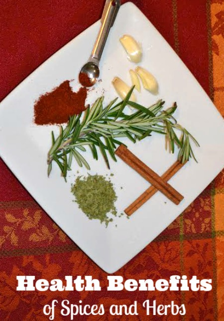 the health benefits of spices and herbs