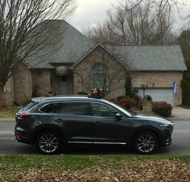 2016 mazda cx 9 signature awd review a sleek family car. Black Bedroom Furniture Sets. Home Design Ideas