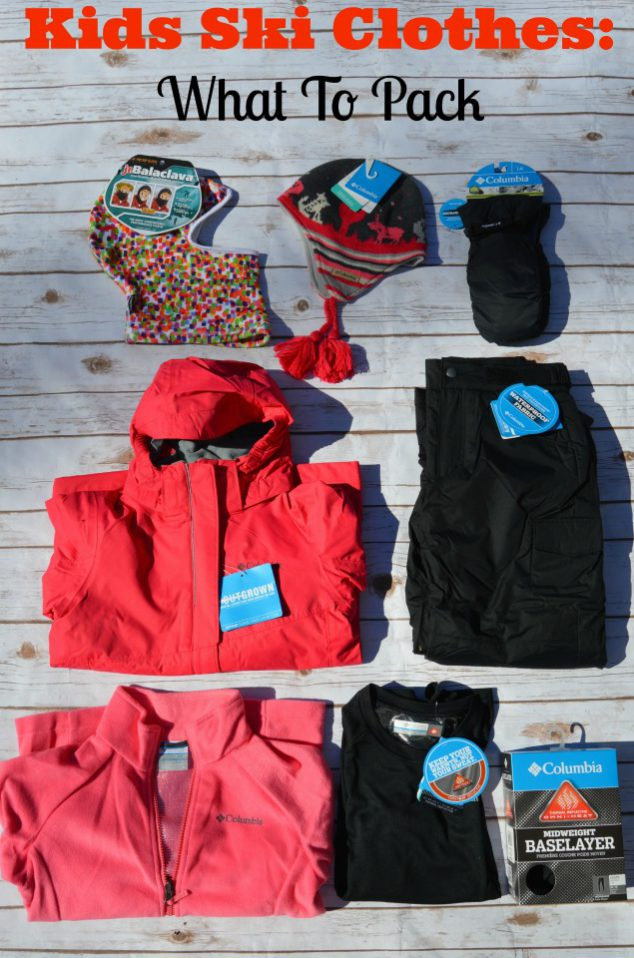 Kids Ski Clothes- What To Pack For Your Family Ski Trip And Where To ... 36eabc064631