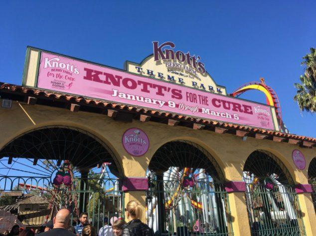 Knott's Berry Farm Amusement Park