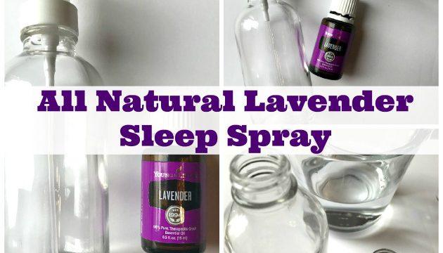 All Natural Lavender Sleep Spray for Children