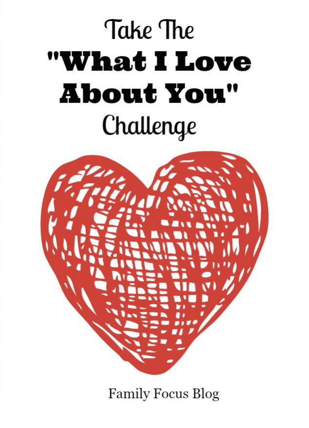 What I love about you challenge
