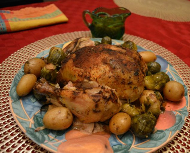 cooking whole chicken crock pot