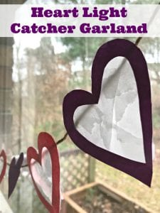 How To Make A Heart Suncatcher Craft Banner