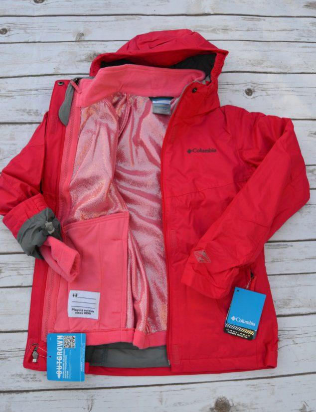 kids waterproof ski jacket