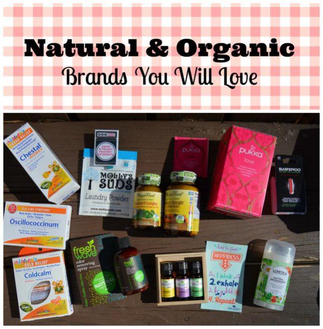 natural organic brands