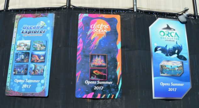 seaworld coming attractions