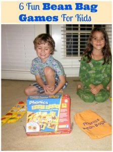 6 Fun Bean Bag Games For Kids To Try Solo And In Groups