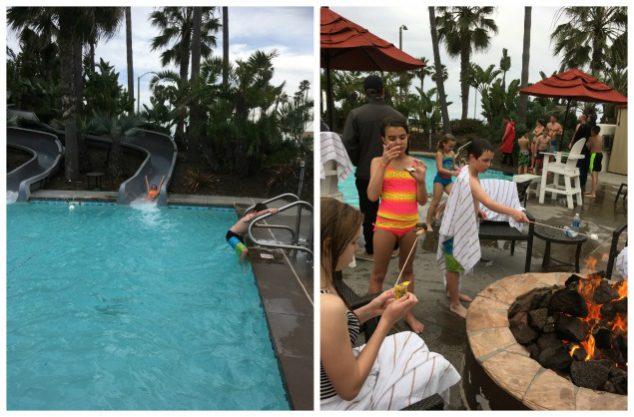 Hyatt HB pools