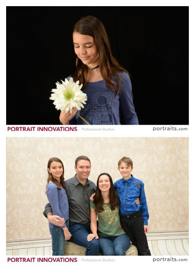 family portraits horizontal