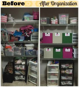 How To Get An Organized Home