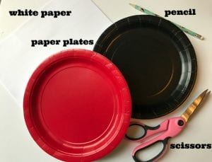 Easy Paper Plate Ladybug Craft for Preschoolers