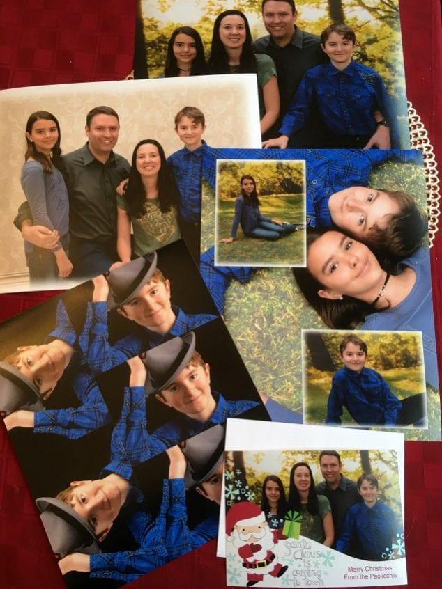 same day family portraits