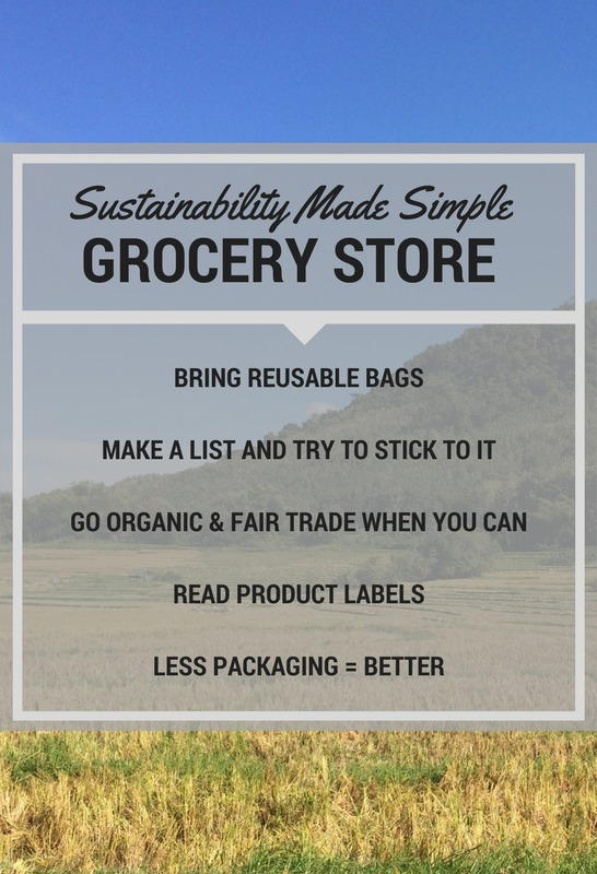 shop more sustainably