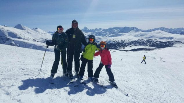ski sunshine village