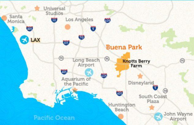 buena park map