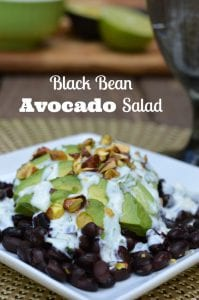 Belly Fat Burning Black Bean Avocado Salad Recipe