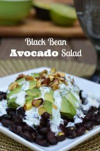 Belly Fat Burning Black Bean Avocado Salad Recipe