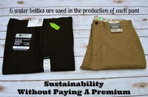 Eco Friendly Men's Clothing Made With Repreve Fabric: Review & Giveaway