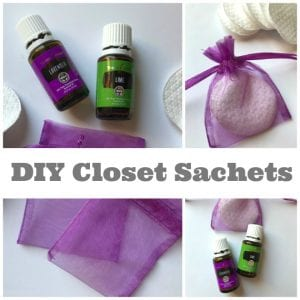 How To Make Essential Oil Closet Drawer Sachets