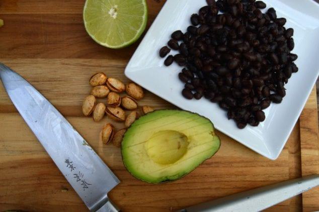 slice avocado