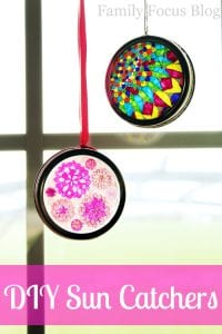 DIY Sun Catchers with Free Printables