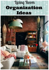 Living Room Organization Ideas You Will Love