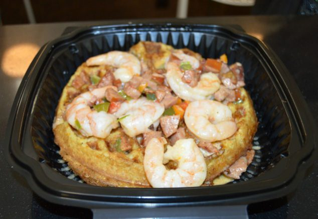 Shrimp and Gifts Waffle