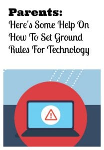 Develop Technology Ground Rules For Children