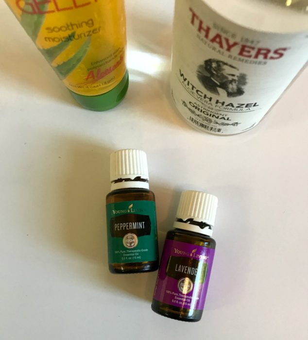 After Sun Cooling Spray Recipe