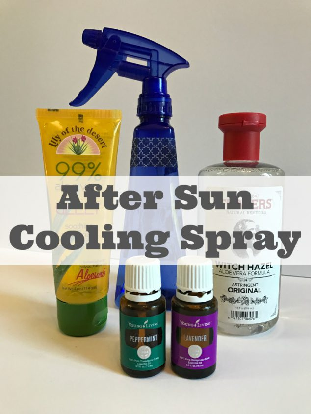 After Sun Cooling Spray