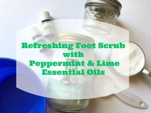 Refreshing Homemade Peppermint Foot Scrub Recipe