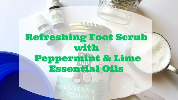 Refreshing Homemade Peppermint Foot Scrub Recipe