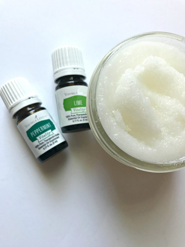 DIY foot scrub recipe