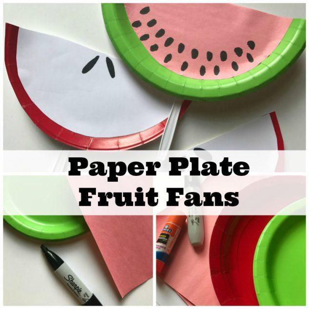 Paper Plate Fans