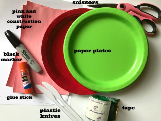 Fruit Slice Paper Plate Craft
