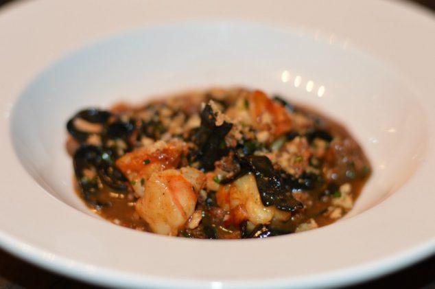 squid ink pasta in bham