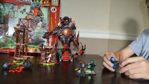 Lego Ninjago Masters Of Spinjitzu Dawn of Iron Doom