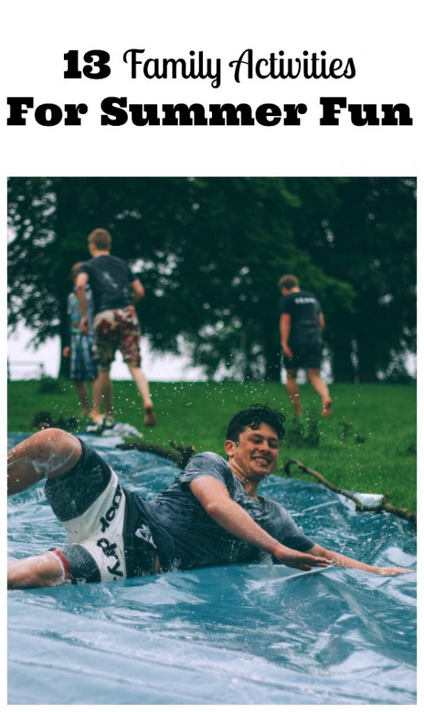 Family Activities Summer