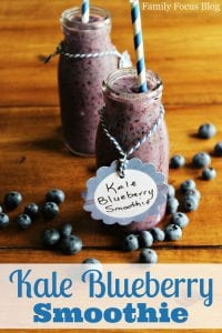 Delicious Kale Blueberry Smoothie Even The Kids Will Love