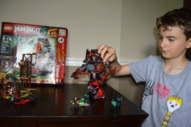 Lego Ninjago Masters Spinjitzu Iron Dooom