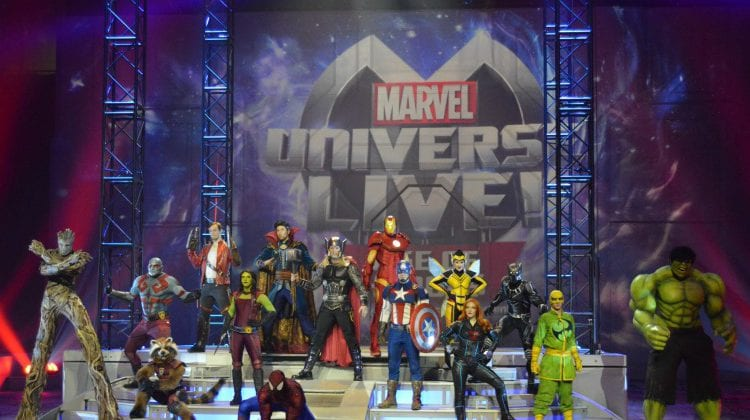 New Marvel Universe LIVE Show: Age Of Heroes, Behind The Scenes