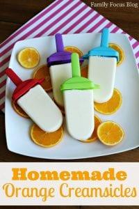 Homemade Orange Creamsicle Recipe